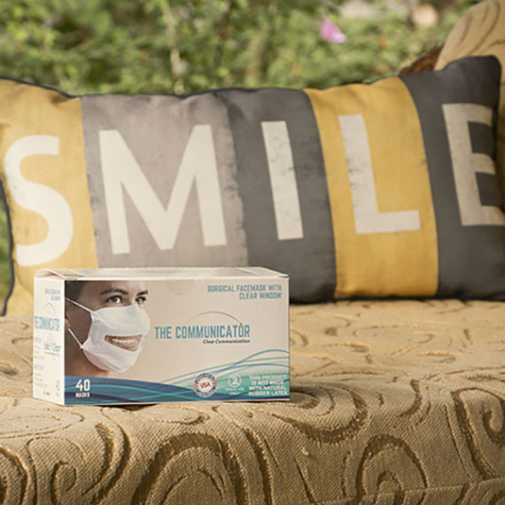 Smile Facemask in Box